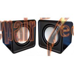 Colunas Omega 2.0 Speaker...