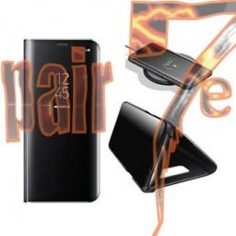 Capa Samsung Galaxy A21S Tipo Livro ClearView Preto